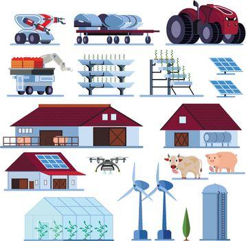 Smart Farming Orthogonal Flat Set