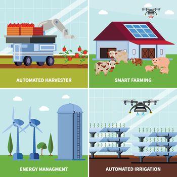 Smart Farming Orthogonal Design Concept
