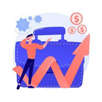 Business opportunity vector concept metaphor