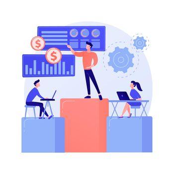 Business meeting vector concept metaphor