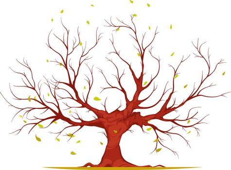 Huge Tree Illustration