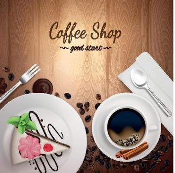 Top Coffee Shop Background