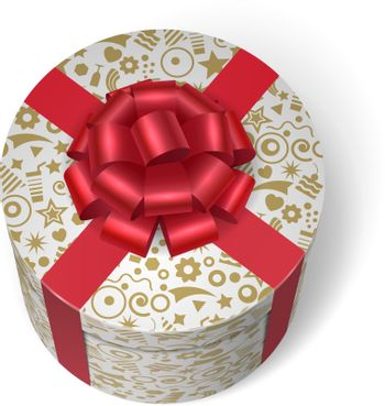 Surprise box with gifts and presents