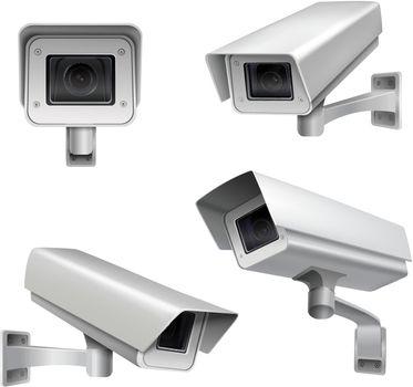 Surveillance camera set