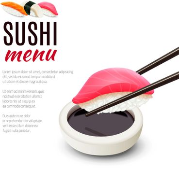 Sushi Menu Background