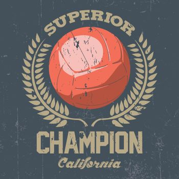 Superior California Champion Poster