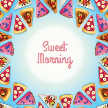 Tasty Breakfast Background