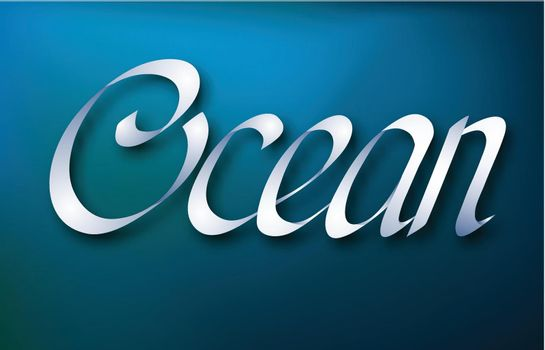 Typographical Abstract Design Concept