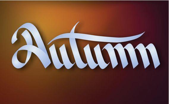 Typographical Seasonal Template
