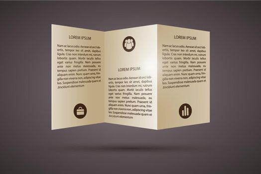 Business Paper Infographic Template