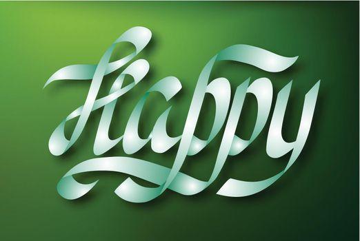 Typographical Inscription Design Concept