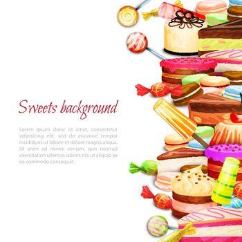 Sweet Food Background
