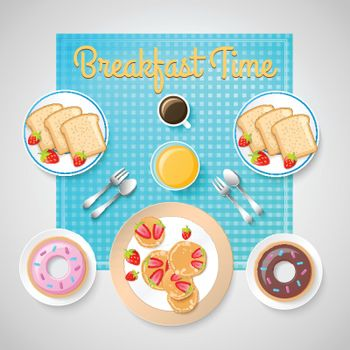 French Breakfast Template