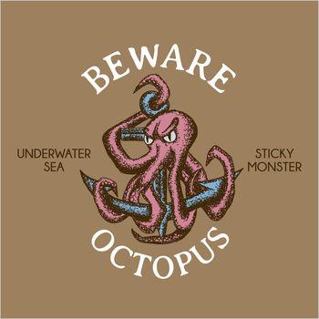 Sticky Monster Maritime Poster