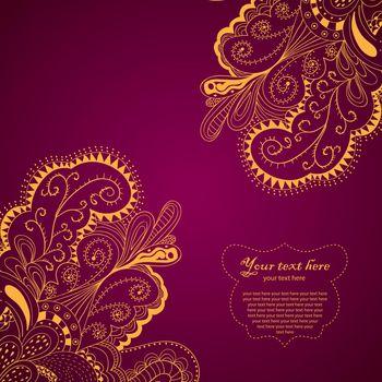 Decorative Element Border Card