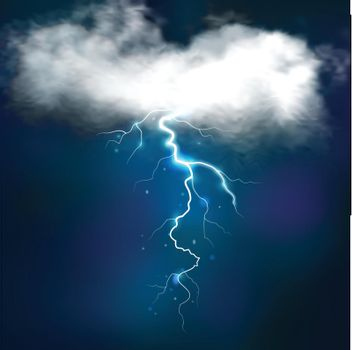 Storm Effects Background