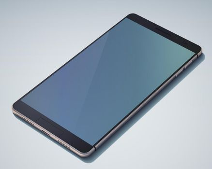 Stylish Touch Screen Smartphone Object