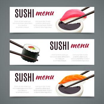 Sushi Banners Horizontal
