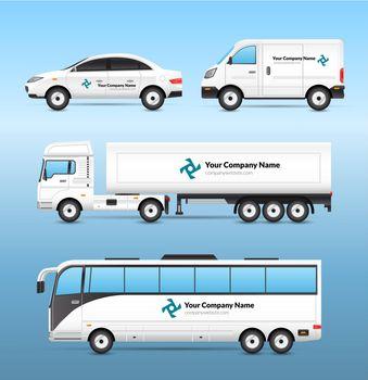 Transport Advertisement Set