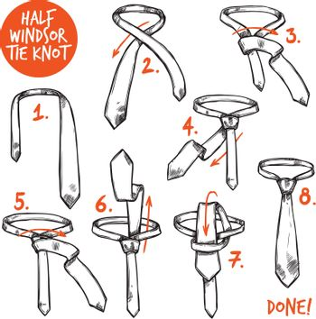 Tie Knot Sketch