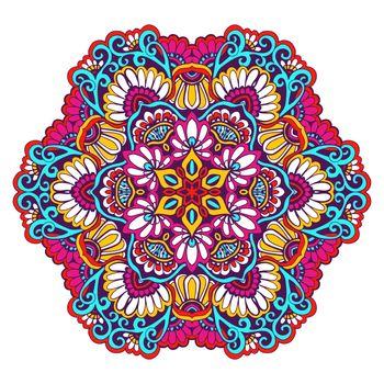 Decorative Mandala Color