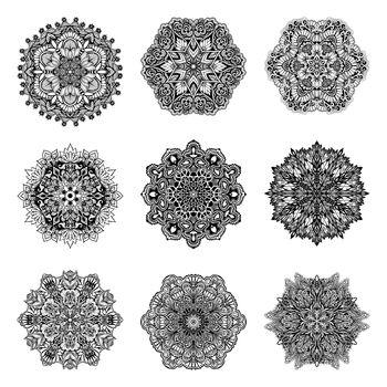 Decorative Mandalas Set