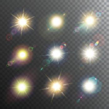 Sunshine Design Elements Icon Set