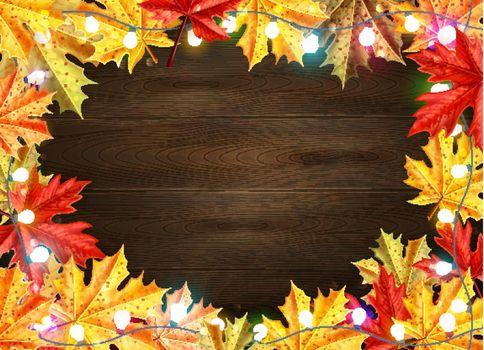 Thanksgiving Day Stylish Frame
