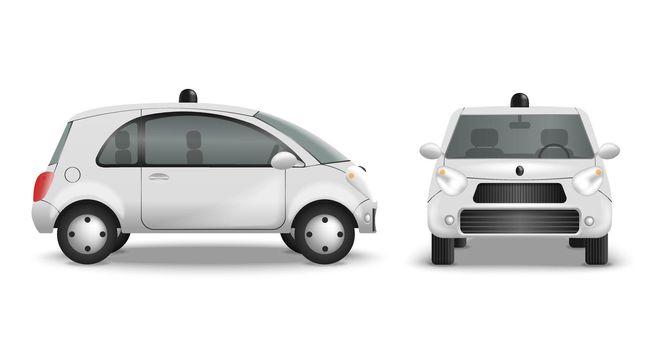 Autonomous Car Realistic Set
