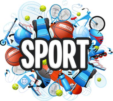 Summer Sports Concept