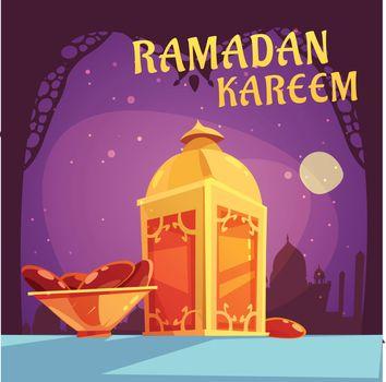 Ramadan Iftar Illustration