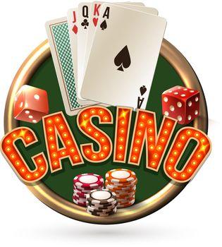 Pocker casino emblem