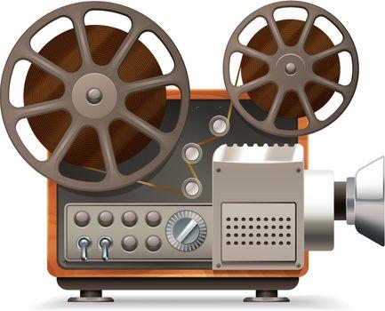 Film Projector Realistic
