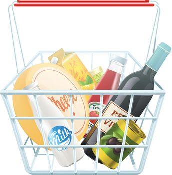 Shopping Basket Concept
