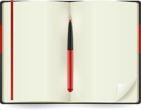 Open Notepad Realistic