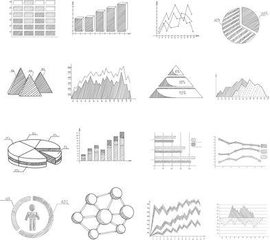 Sketch Diagrams Set