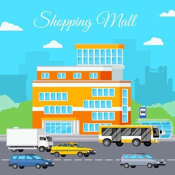 Shopping Mall Urban Composition