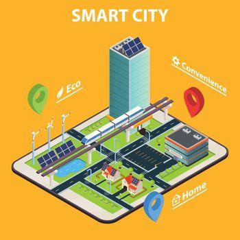 Smart City Tablet Concept