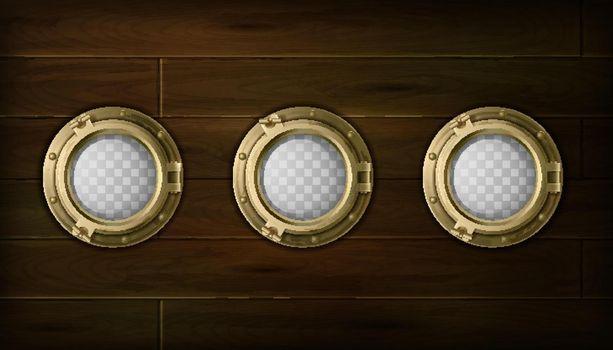 Ship Portholes Set