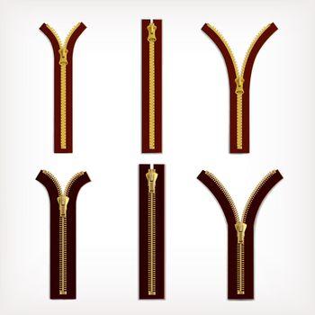 Zipper Yellow Set