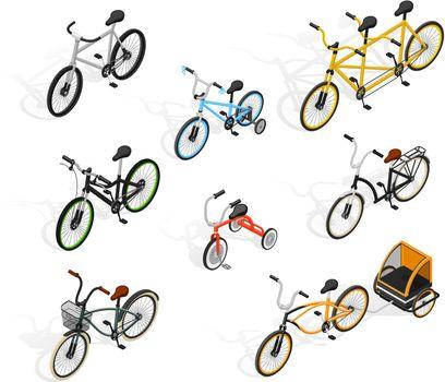 Push Cycles Isometric Set