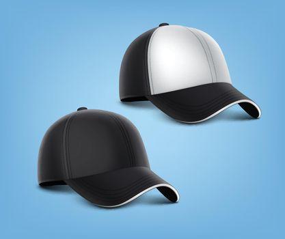 Vector black cap