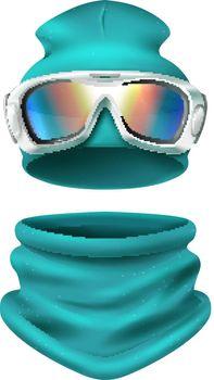 Ski Suit Composition