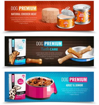 Puppy Chow Horizontal Banners