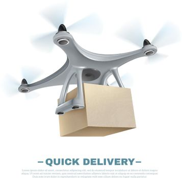 Realistic Delivery Drone