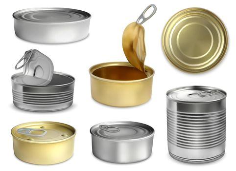 Preserve Tin Realistic Set