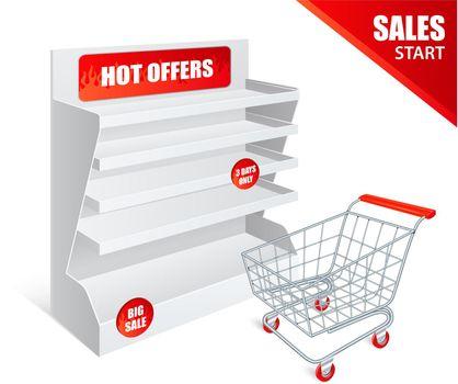Promotion Shelf Realistic