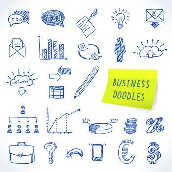 Doodle business set