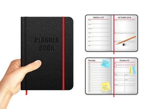 Planner Book Design Concept