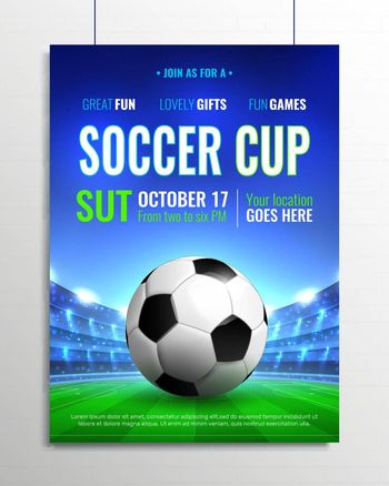 Soccer Cup Poster